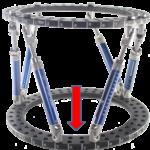 Flexible Strebenpositionierung